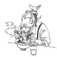 Kolo y Boss (Boceto) 2