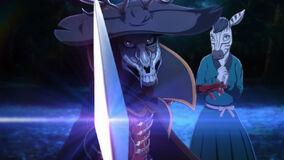 Rouis como Adler (Anime)