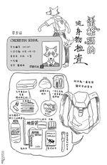 Contenido de la mochila de Legosi (Manga).jpg