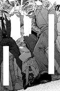 Seven usando el metro (Manga)