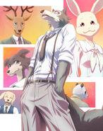 Beastars Anime (Póster Limpio) 02