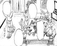 Hal discute con su familia (Manga)