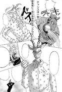 Yahya le dispara a Melon (Manga)