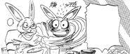 El padre de Hal sospecha de su hija (Manga)