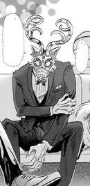 Legoshi en la fiesta de máscaras (Manga)