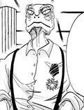Gosha a los 17 años (Manga)