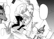 Melon es detenido por Yahya (Manga)