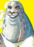 Rostro de Sagwan (Manga)