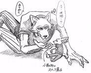 Legoshi y Boss (Boceto)