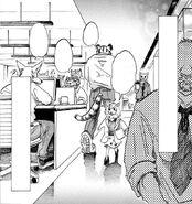 Seven en su trabajo (Manga)