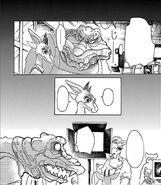 Luna prueba la comida de Benny (Manga)