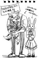 Fecha de revelación del cast del anime (Boceto)