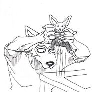 Legoshi y Boss (Boceto) 5