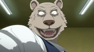 Rostro salvaje de Riz (Anime)