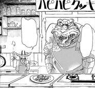 Luna y Benny acaban de cocinar (Manga)