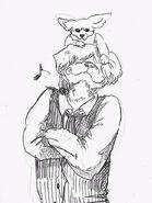 Kolo y Boss (Boceto)