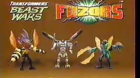 Beast Wars Fuzors Commercial
