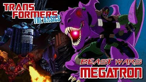 TRANSFORMERS THE BASICS on Beast Wars MEGATRON