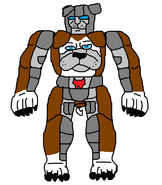 English Bulldog-transformer Maximal Bighouse