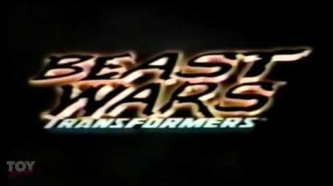 Beast Wars Optimus Primal Vs Megatron Toy Commercial