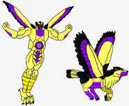 Predacon Doomwings in Both Modes