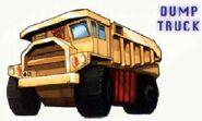 Landfill Dump Truck Mode