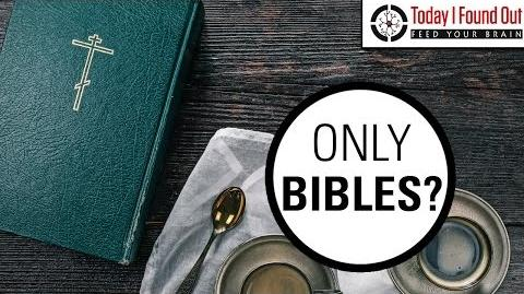 Why are There Bibles in Hotel Rooms?