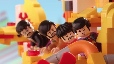 The Beatles' LEGO Yellow Submarine vs