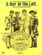 A Day in the Life US sheet music cover