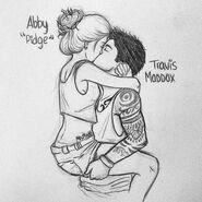 Pidge y Travis