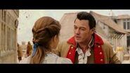Beauty and the Beast 2017 Deleted Scene Gaston Courts Belle