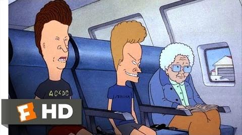 Beavis and Butt-Head Do America (7 10) Movie CLIP - Slots On A Plane (1996) HD