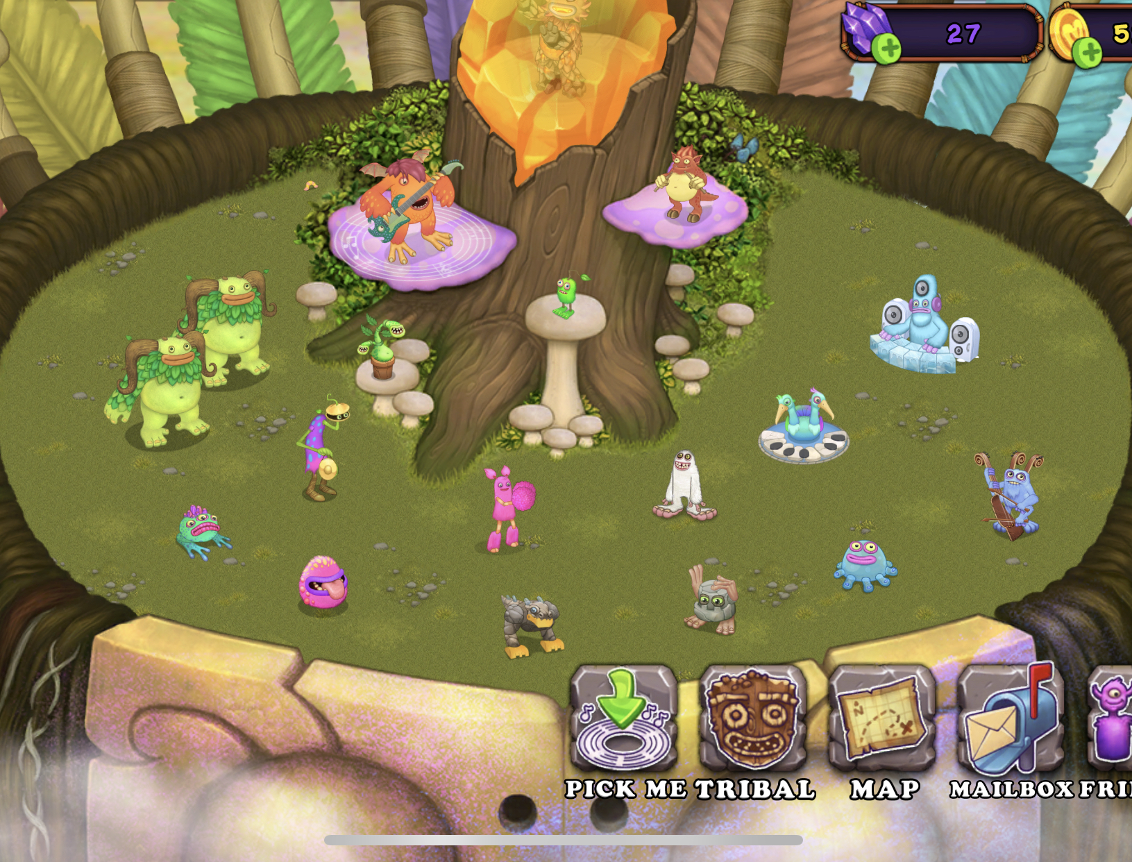 Come guys to my tribe!! Come and put ur monster in my tribe!! Help me plzz!! Friend Code: 35012350li