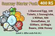 Snowey Starter Pack