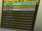 All-Time Top White Collectors