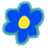 Boost Blue Flower Field
