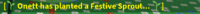 OnettFestiveSprout