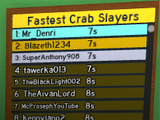 Fastest Crab Slayers