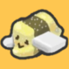 The stat icon that appears when you use a Marshmallow Bee.