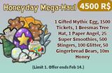 Honeyday Mega-Haul