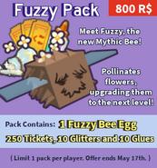 Fuzzybeepack