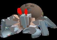 Coconut Crab GeplagtesSkelett