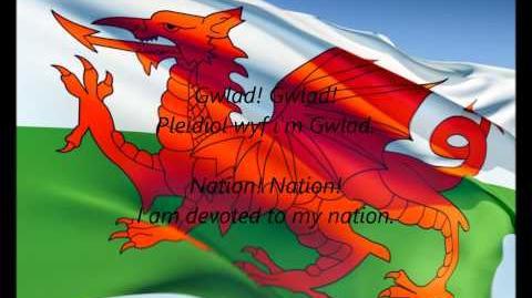 """Welsh National Anthem - """"Hen Wlad Fy Nhadau"""" (CY EN)"""