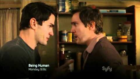 Being Human (Syfy) Episode 1x03 - «Something to Watch Over Me» - Preview
