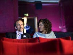 Psychic Alan Cortez and Annie