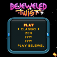Bejeweled Twist 128x128 mobile Play Menu