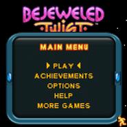 Bejeweled Twist 128x128 mobile Main Menu
