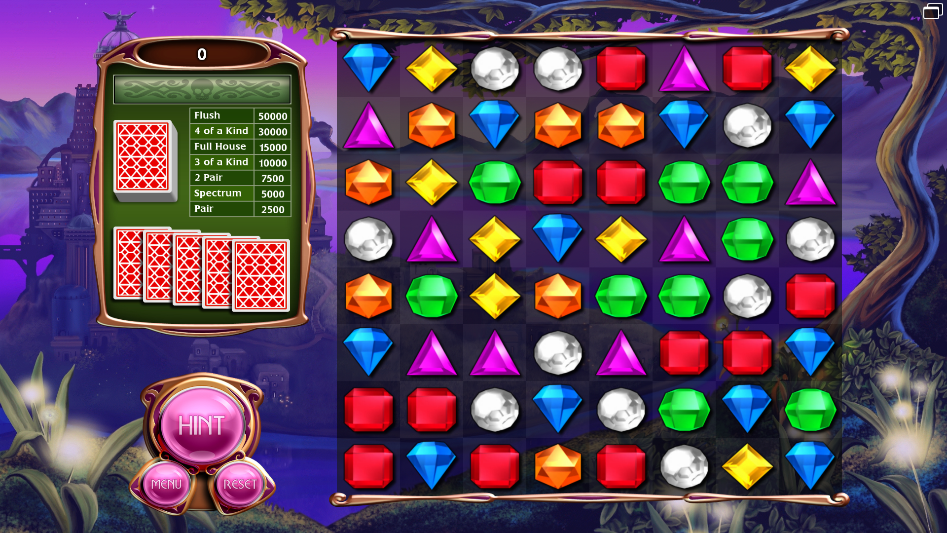 Poker Game Mode Bejeweled Wiki Fandom