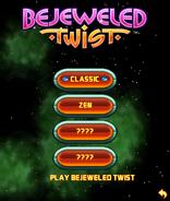 Bejweled Twist Mobile Game Menu 1