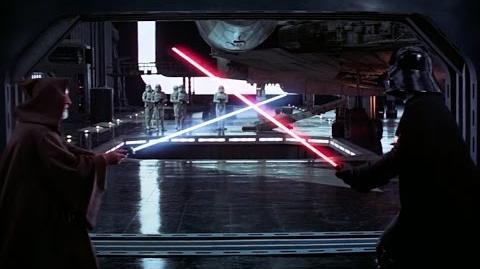 Ben Kenobi vs Darth Vader - A New Hope -1080p HD-